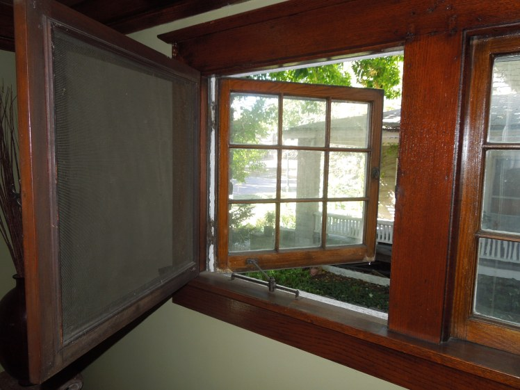 casement window screen